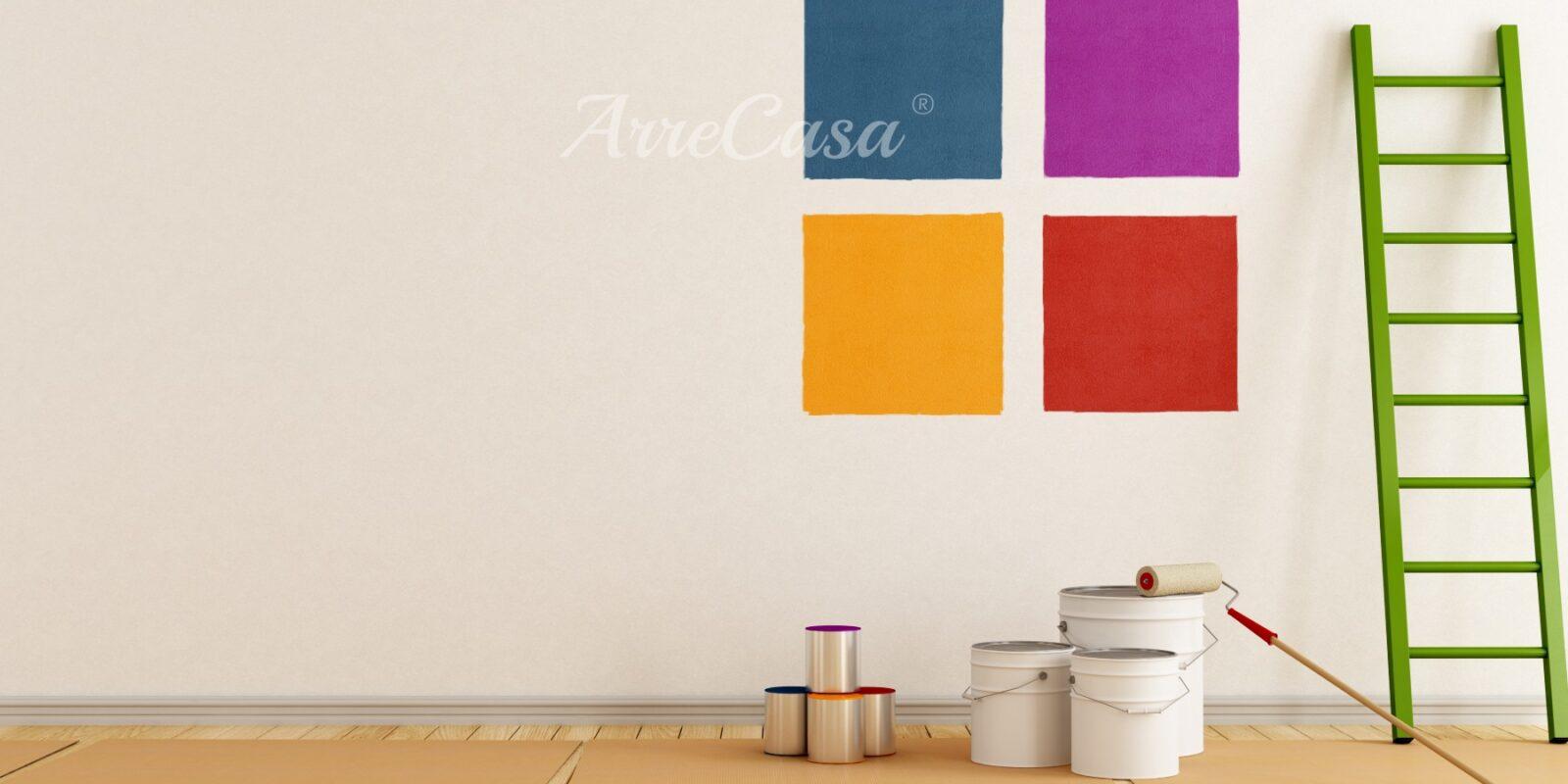 pitturare casa, colori per pareti