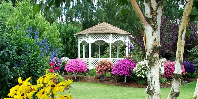 gazebo, gazebo giardino