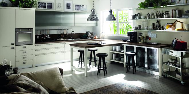 scavolini, cucina industriale