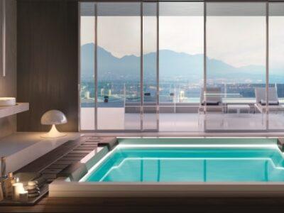 tresse, design e tecnologia, vasca idromassaggio