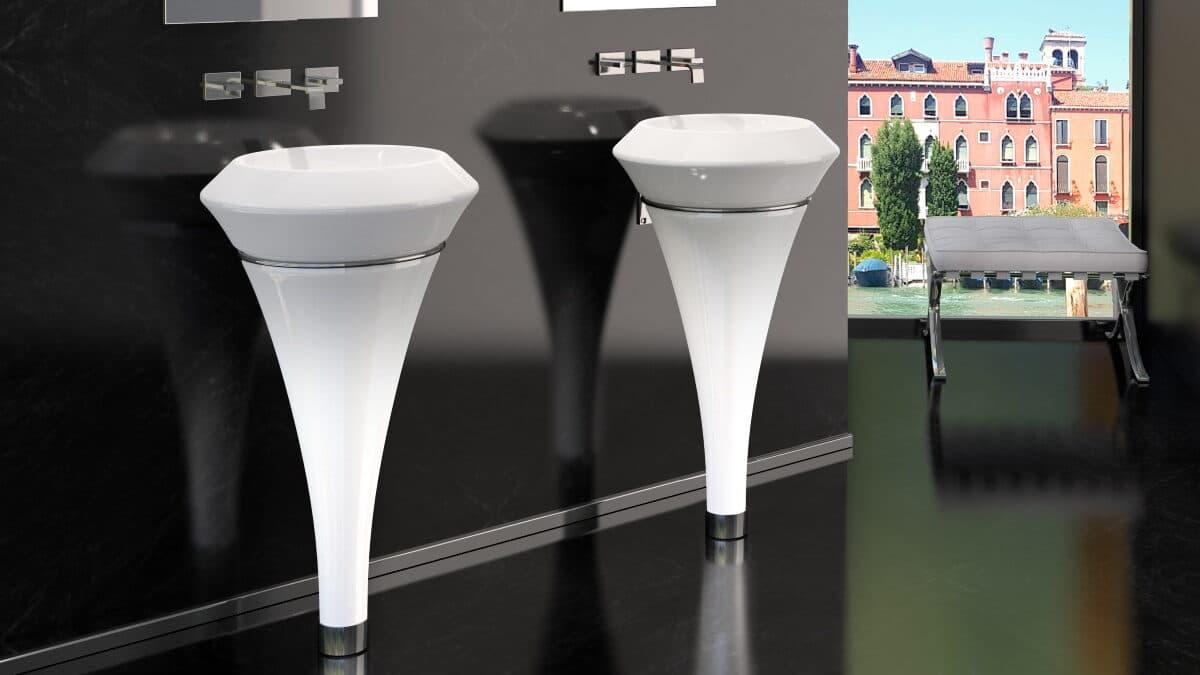 isola murano glass design