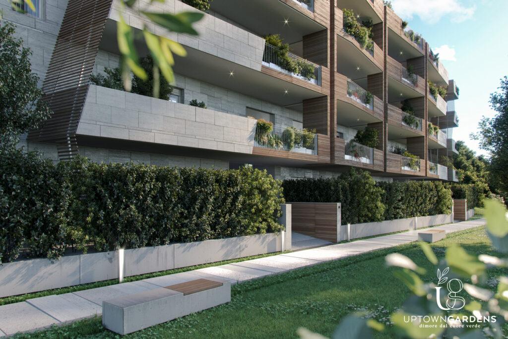 uptown gardens roma, trilocale, bilocale, arrecasa