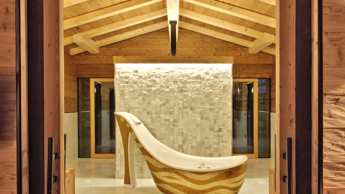 vasca decollete Dolomiti Wellness Hotel Fanes