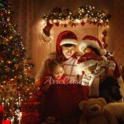 arredamento natalizio, arredare casa per Natale, arredi natalizi per la casa