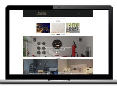 arrecasa, rivista arredamento online, nuovo sito