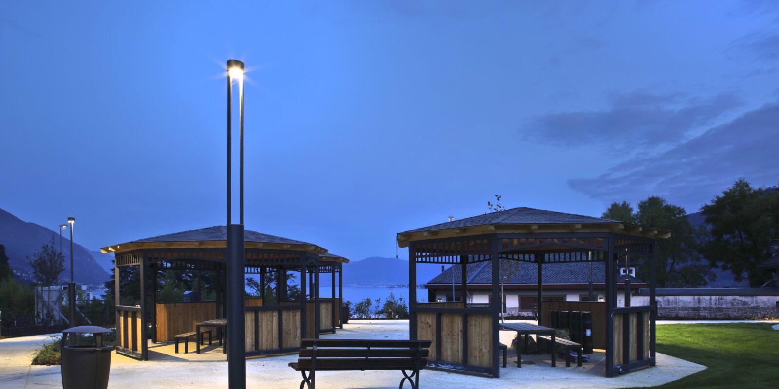 Francesconi Architectural Light per parco paroletti