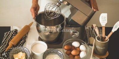 Cooking machine con planetaria