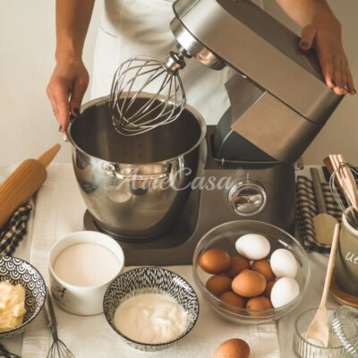 Cooking machine con planetaria