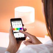 Lampadine smart con apposita applicazione