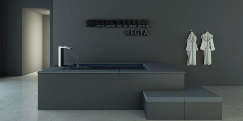 Spatium piscine fuori terra modello Recta