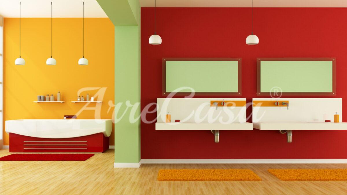colore parete bagno