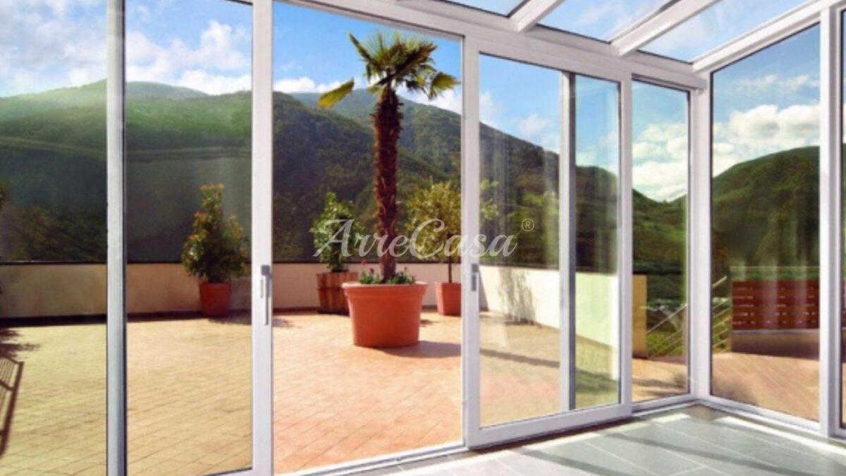 trasformare balcone in veranda