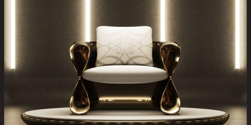 Salon L'infini è lo showroom di Elie Saab Maison al Fuorisalone di Milano