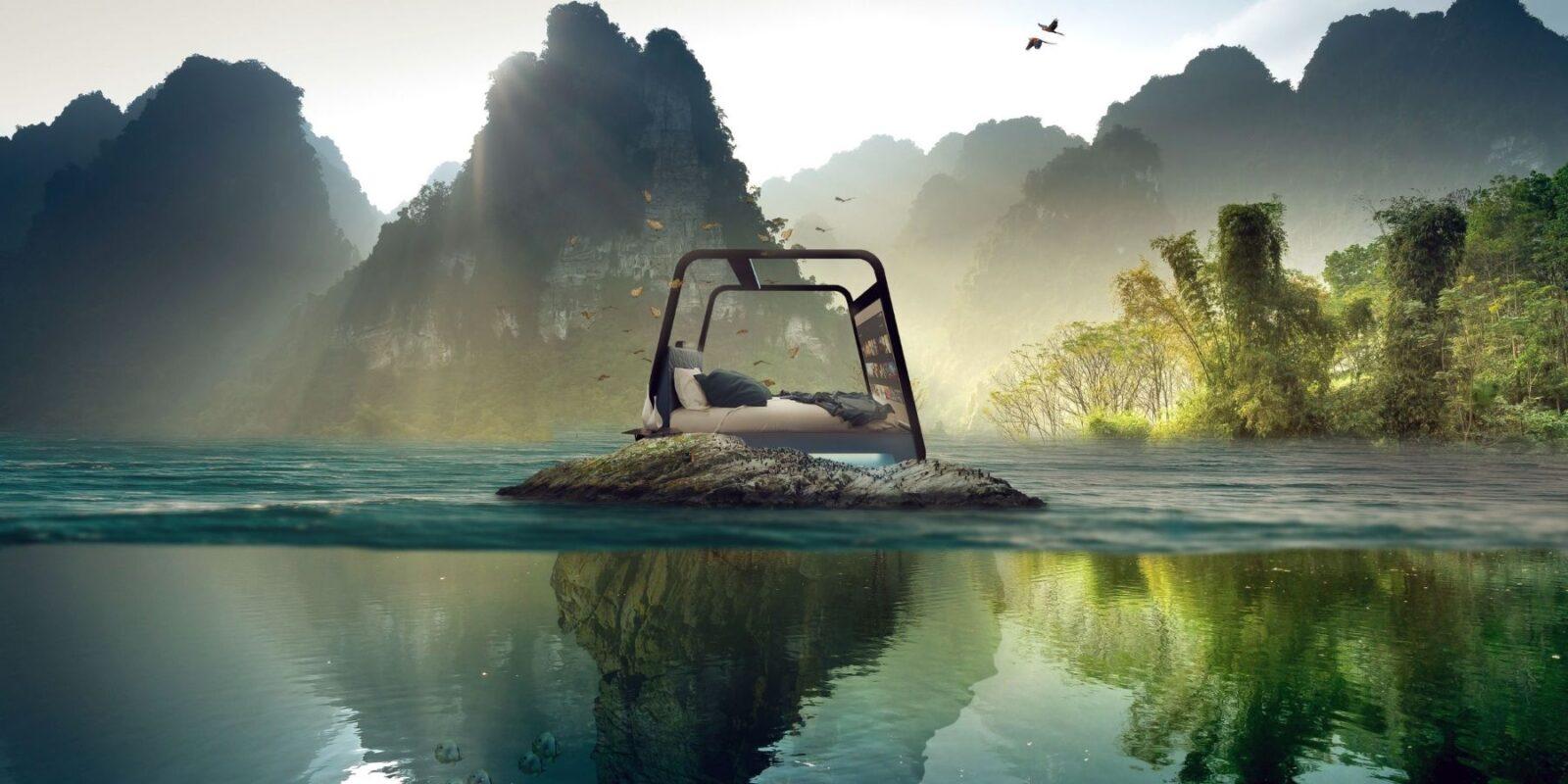 L'oasi di benessere e riposo garantita da HiAm, il nuovo hibed di Hi-Interiors