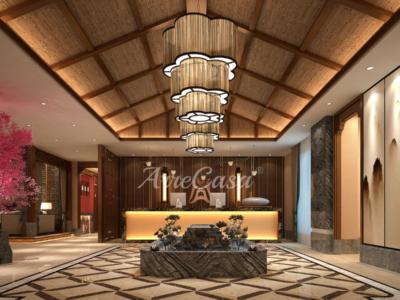 arredamento di lusso per hotel stile orientale