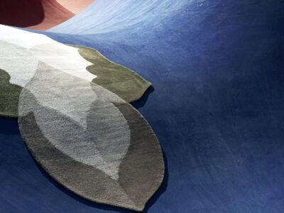La collezione Foliage di carpet Edition accoglie Winter, il tappeto per l'inverno